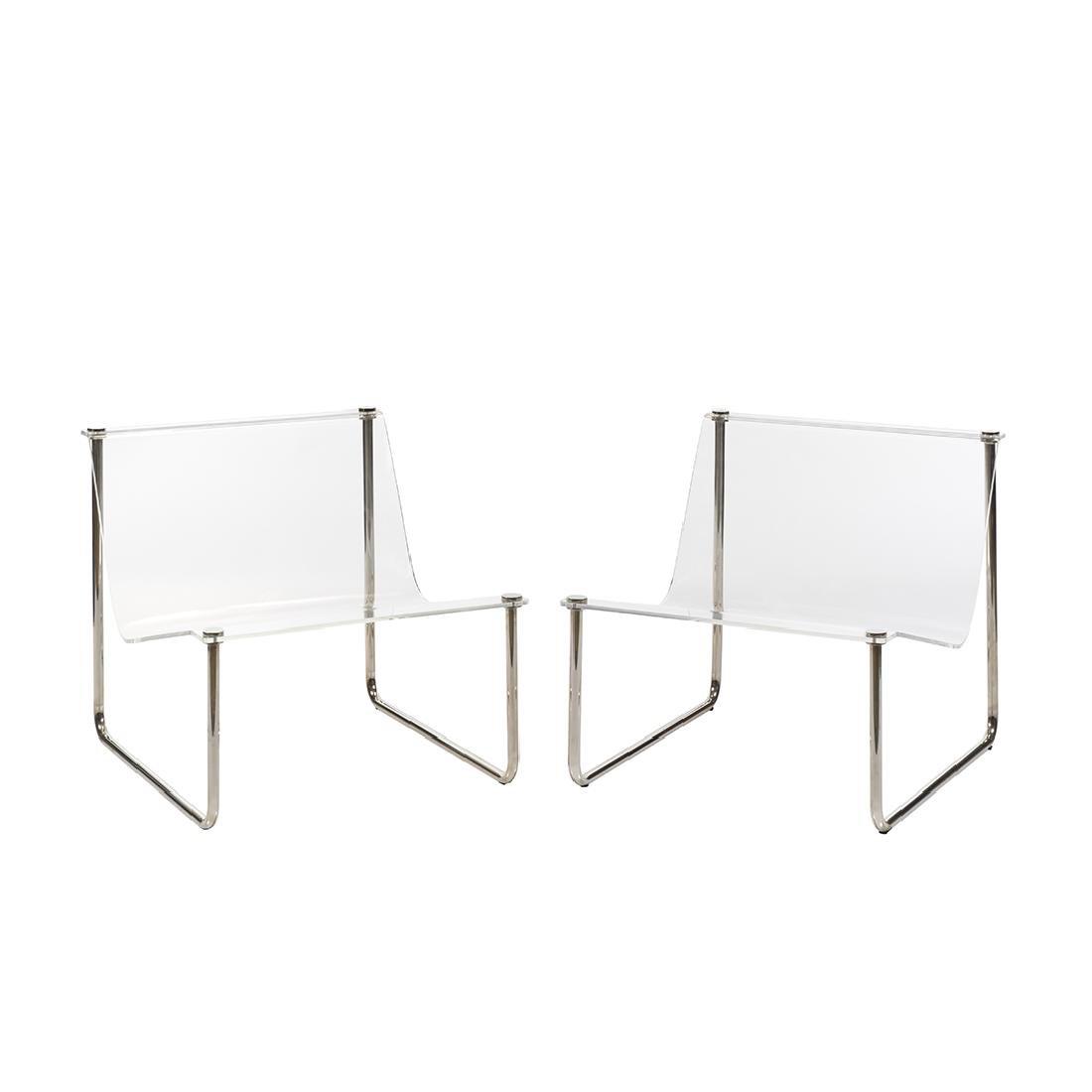 Charles Hollis Jones Sling chairs (2)