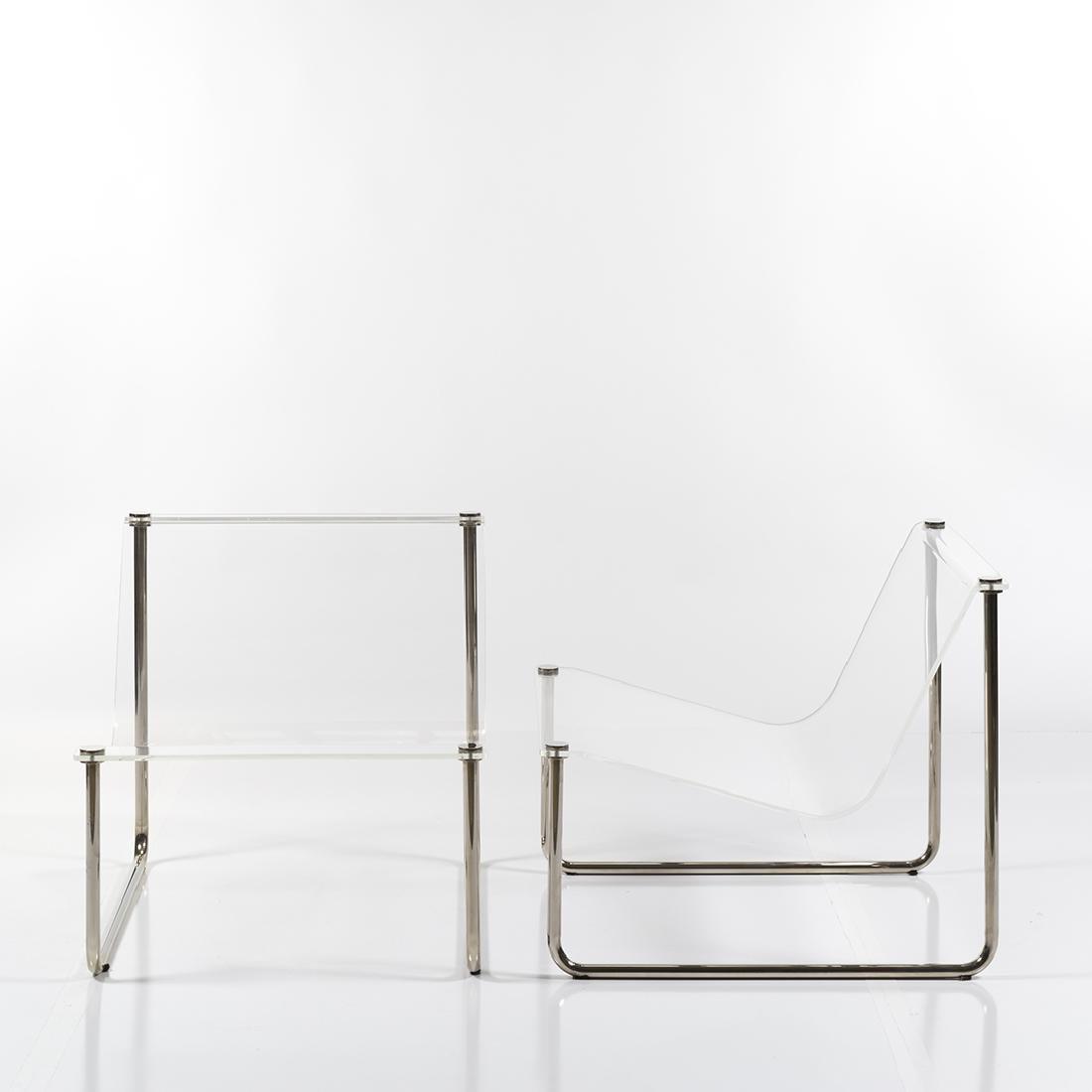 Charles Hollis Jones Sling chairs (2) - 2