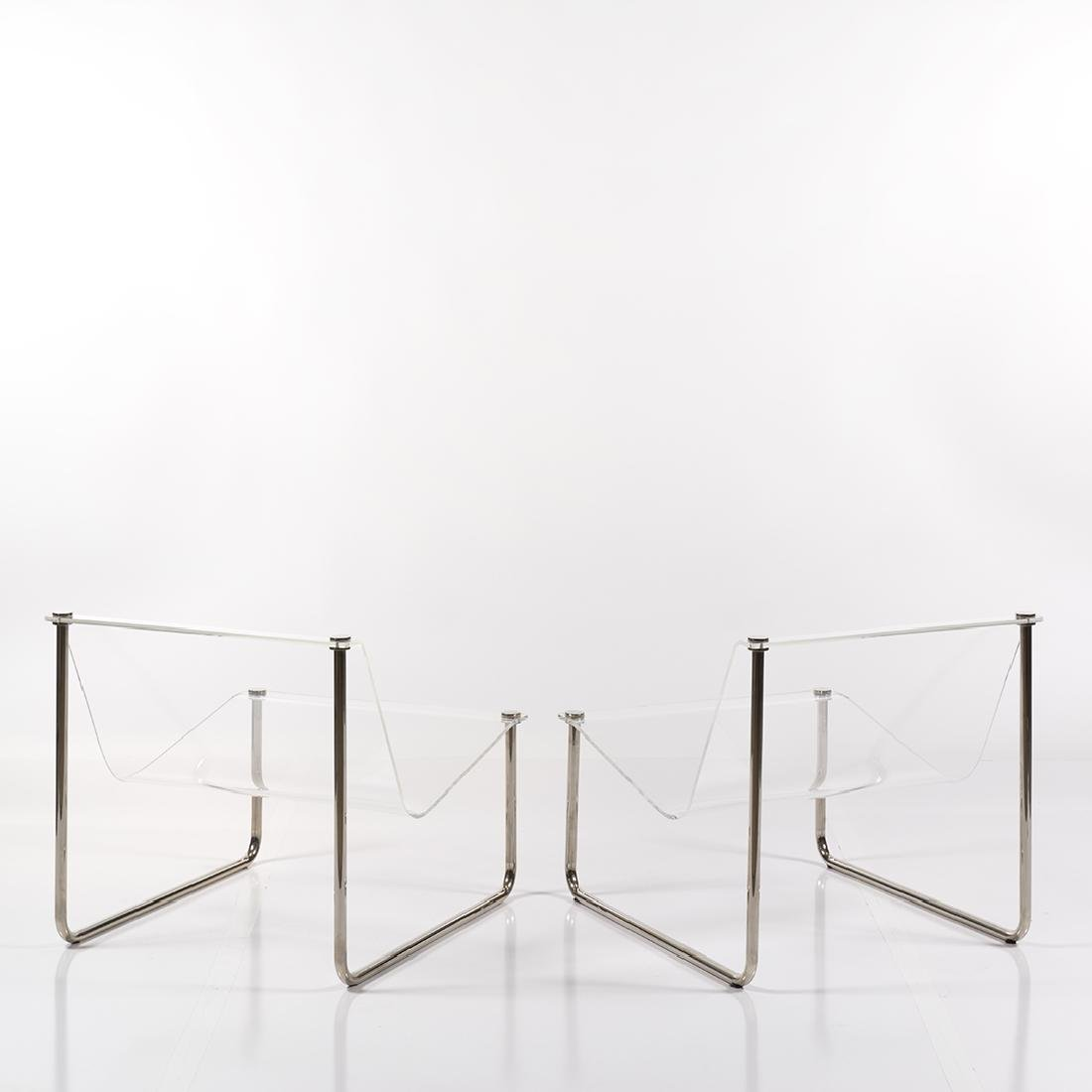 Charles Hollis Jones Sling chairs (2) - 3