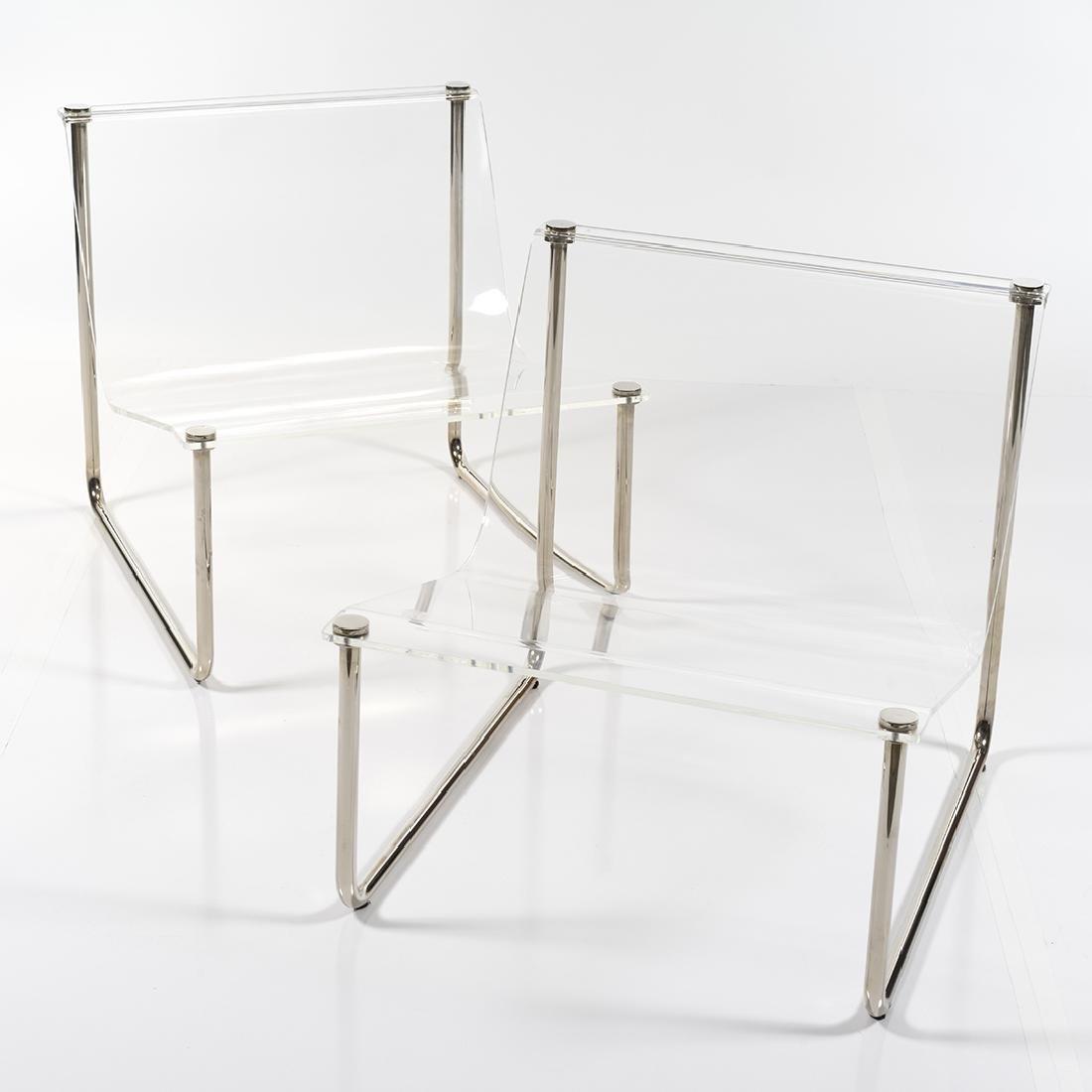 Charles Hollis Jones Sling chairs (2) - 4