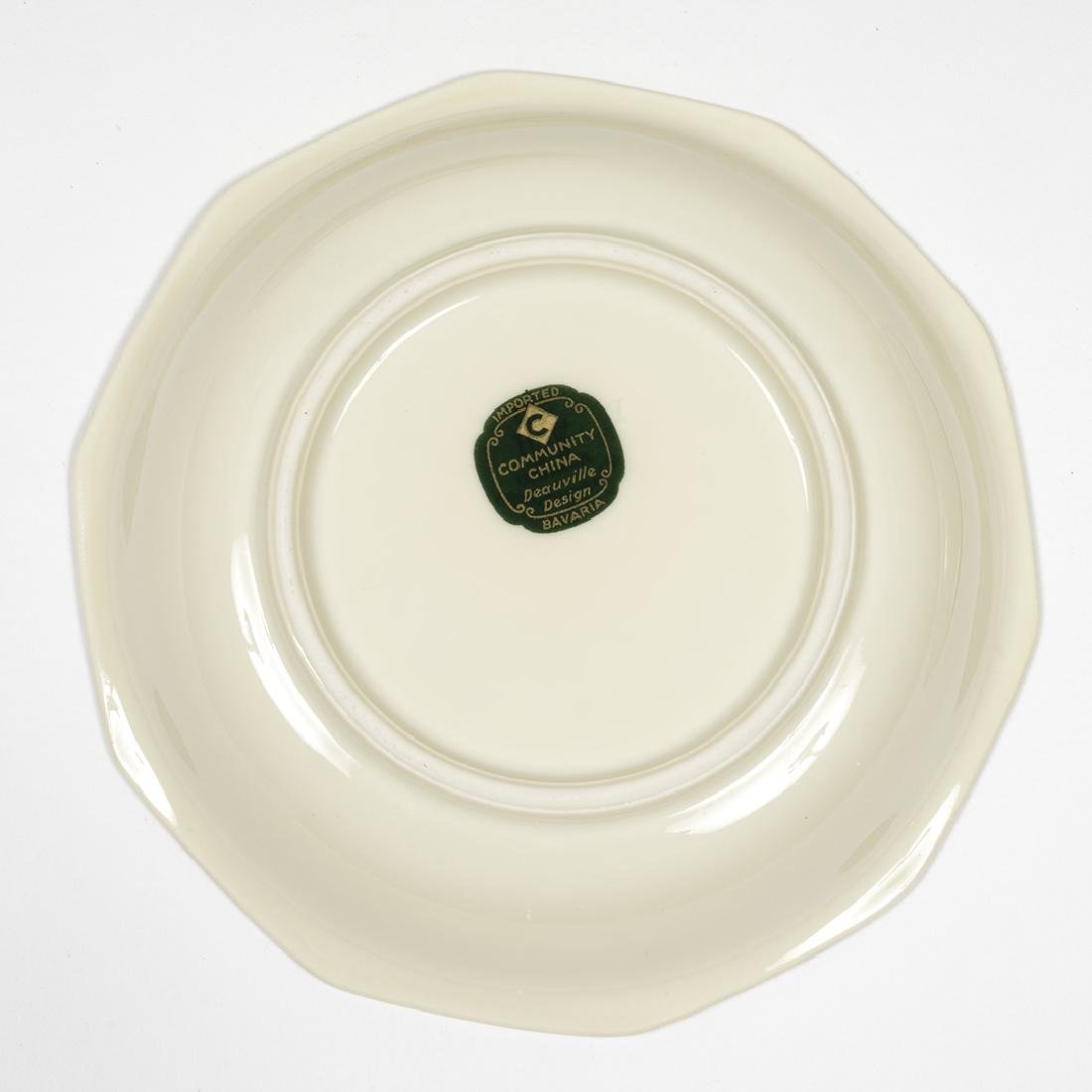 Community China Deauville Art Deco Dinnerware - 6