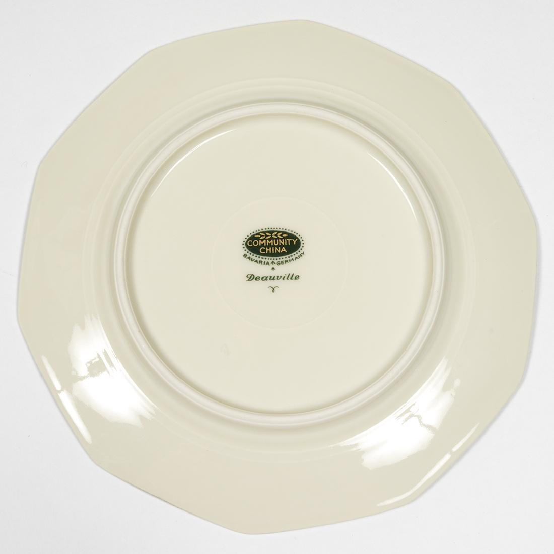 Community China Deauville Art Deco Dinnerware - 7