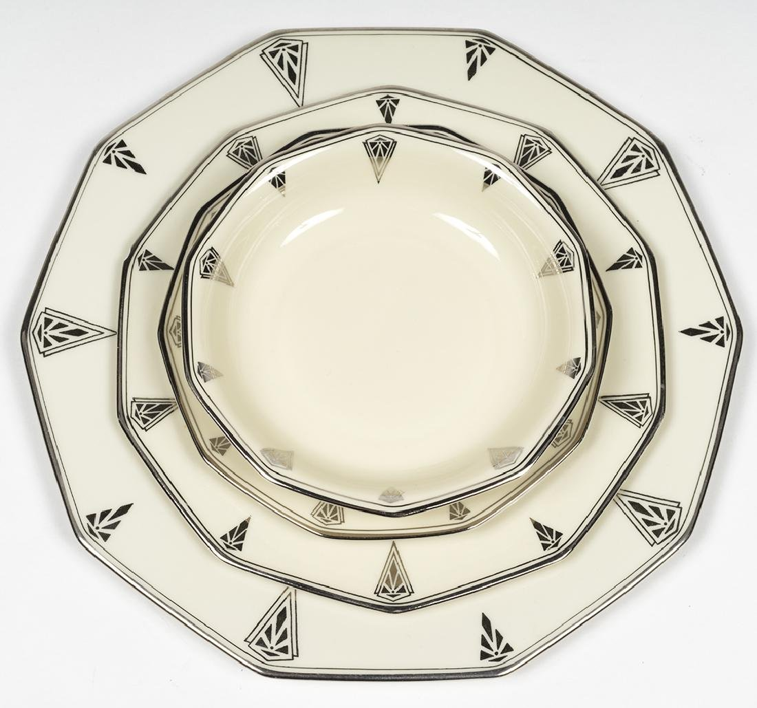 Community China Deauville Art Deco Dinnerware - 8