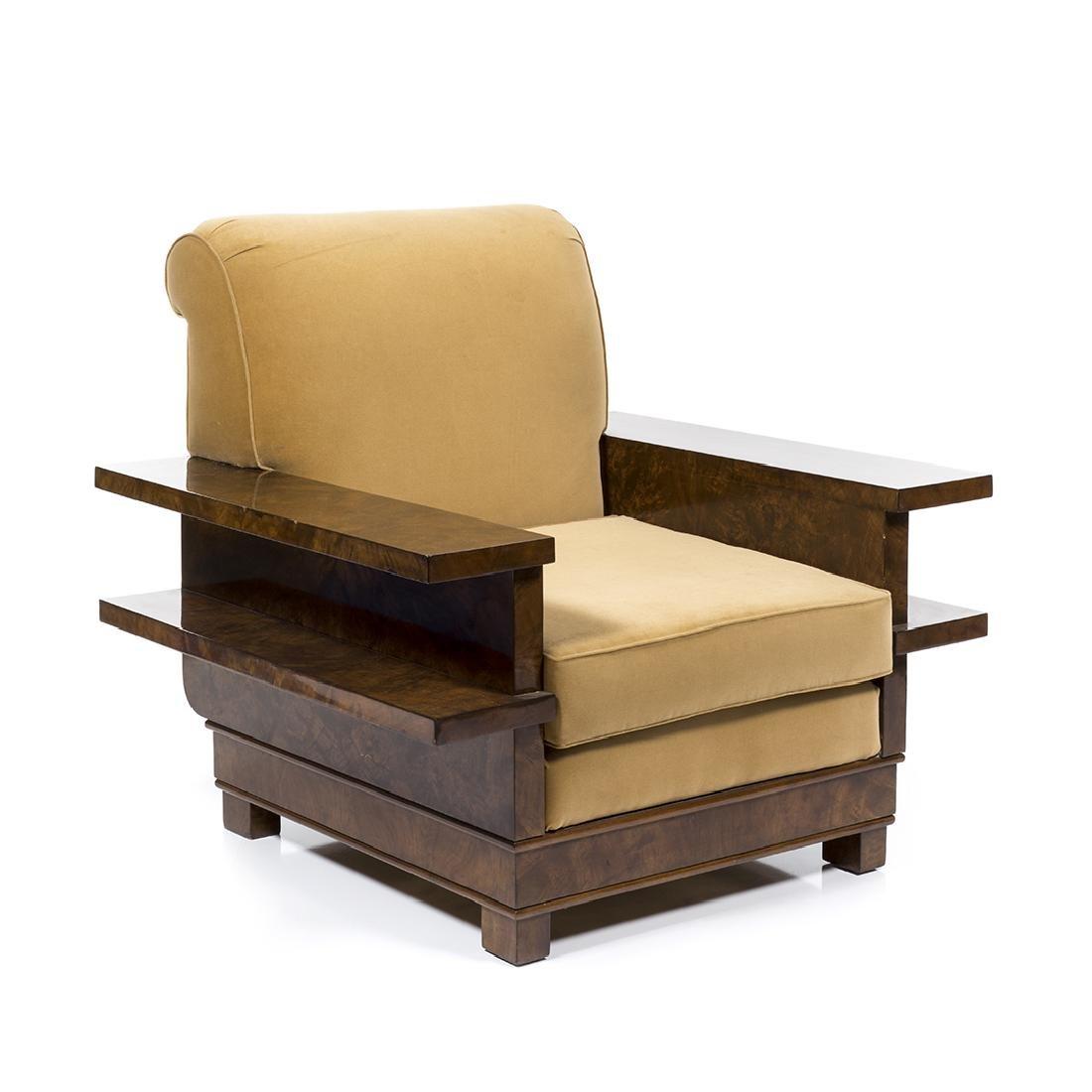 Italian Art Deco Club Chair