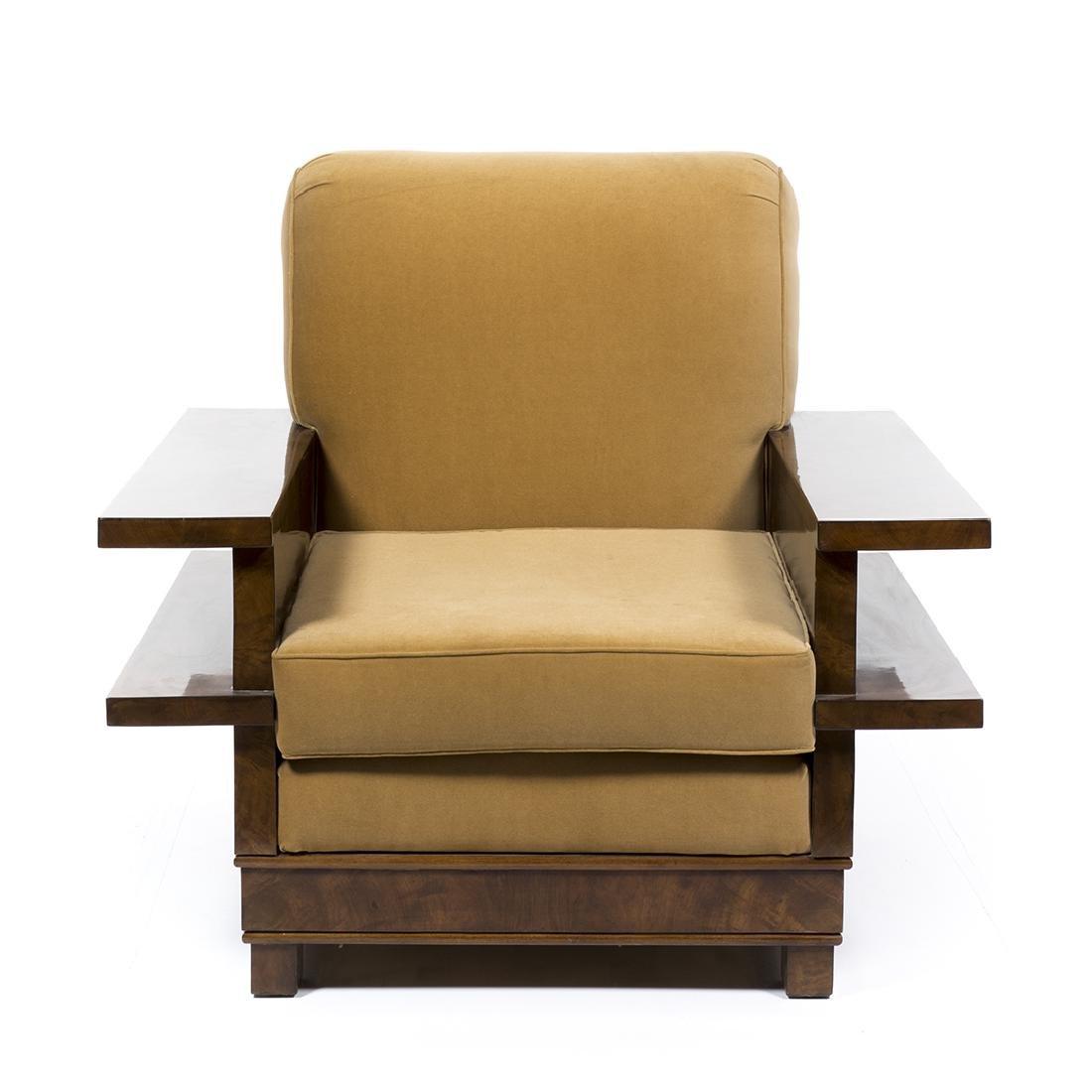 Italian Art Deco Club Chair - 2