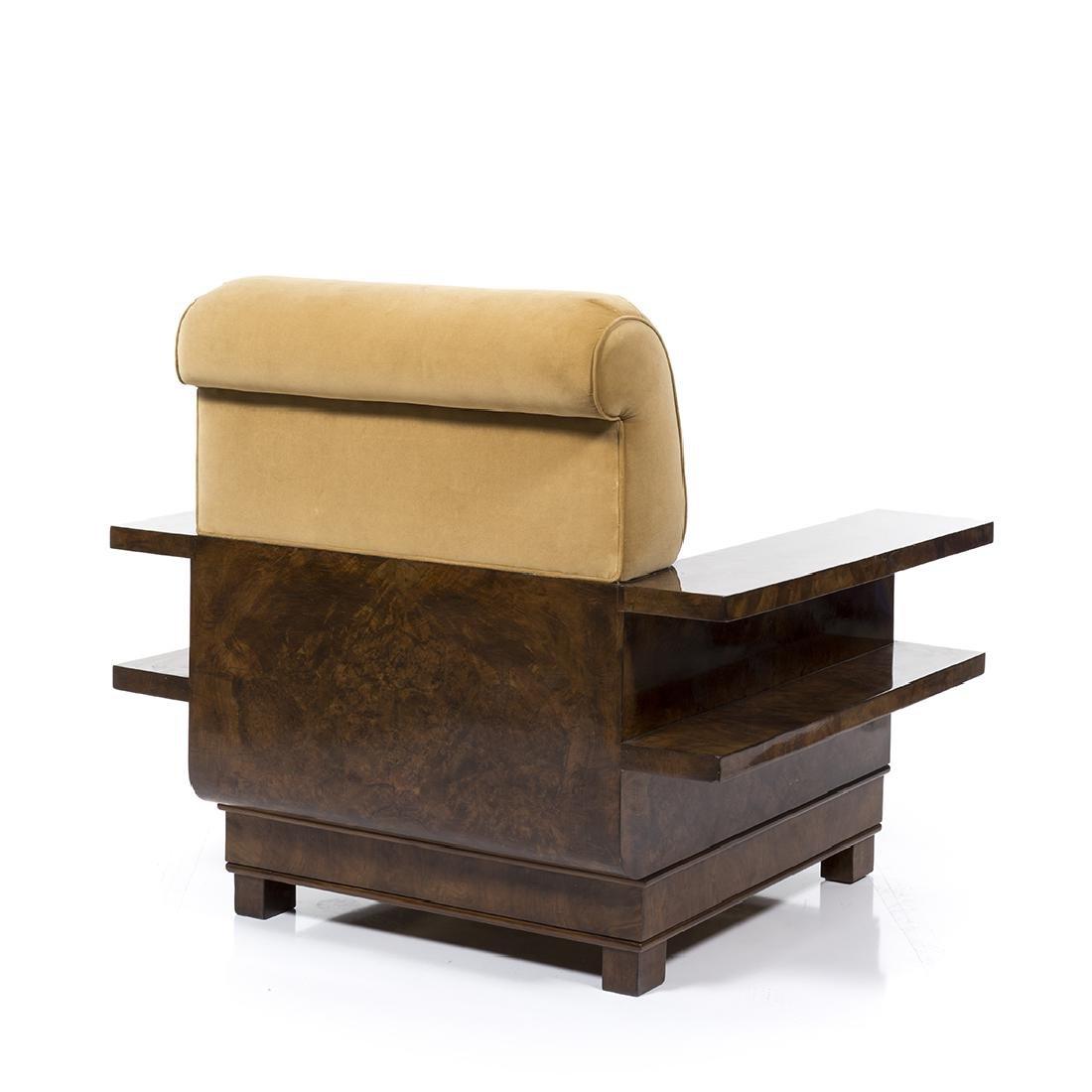 Italian Art Deco Club Chair - 3