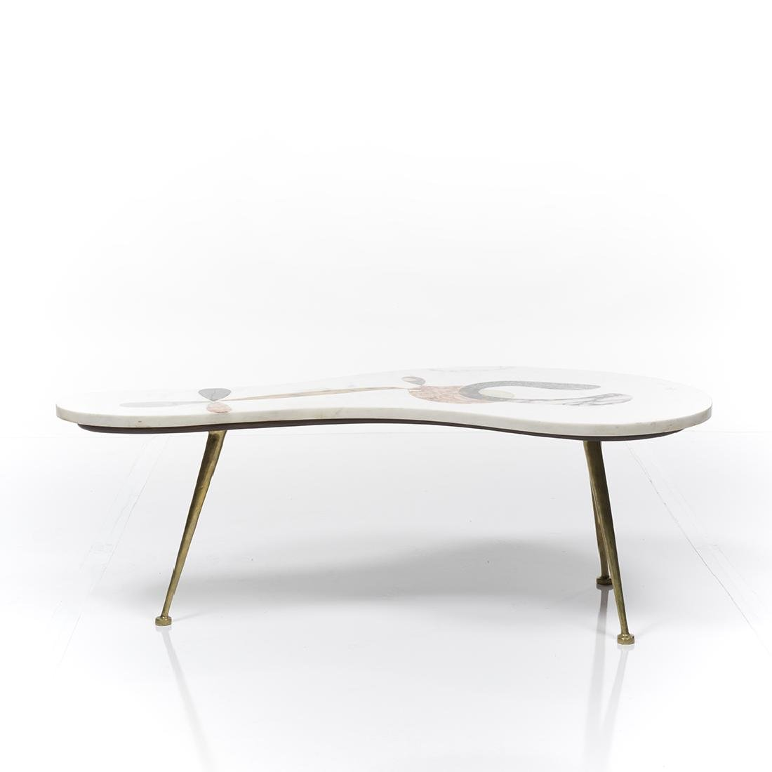 Pietra Dura Coffee Table - 3