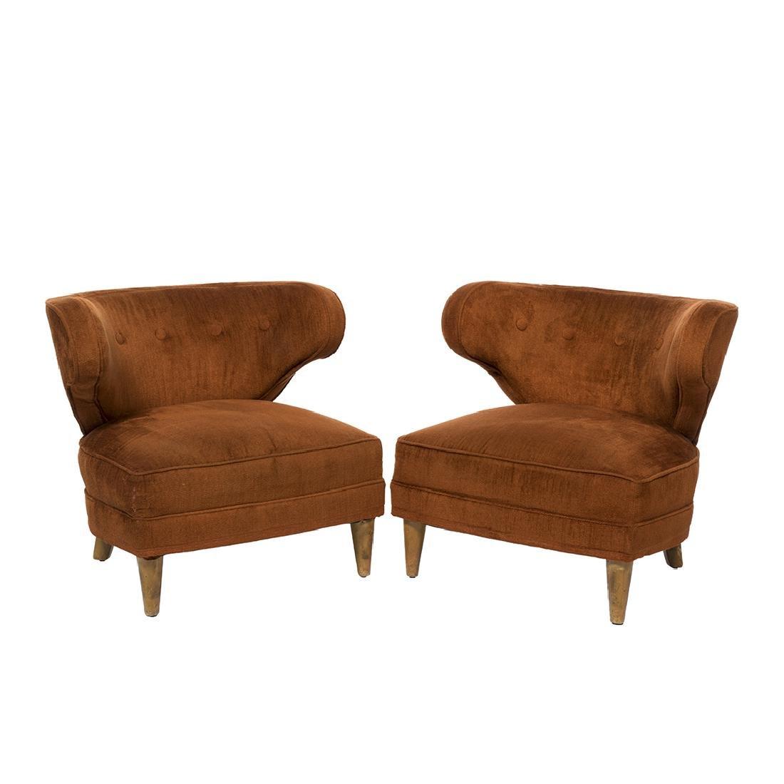 Paul Laszlo Lounge Chairs (2)
