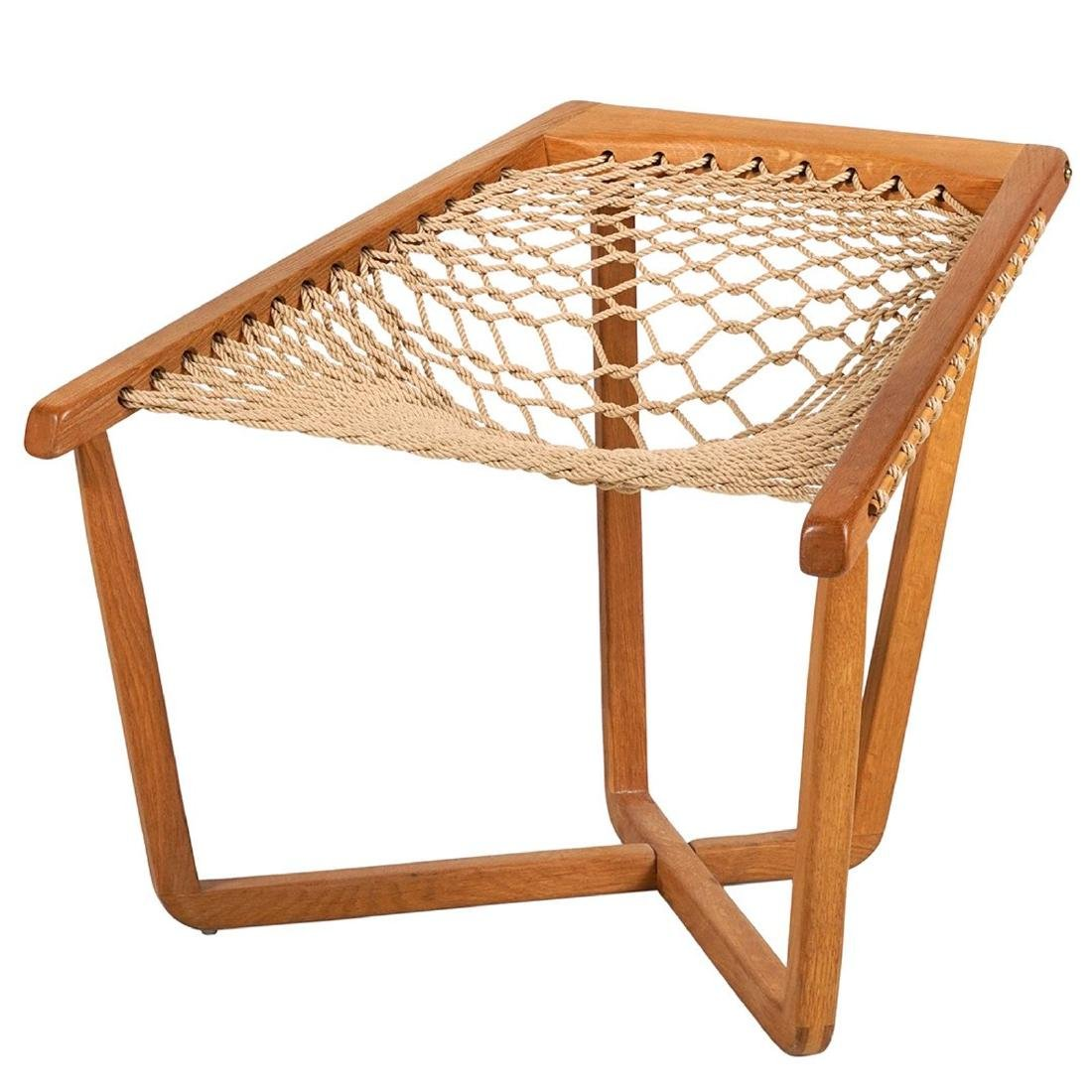 Woven Sling Lounge Chair