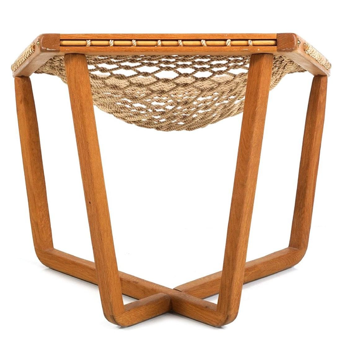 Woven Sling Lounge Chair - 4