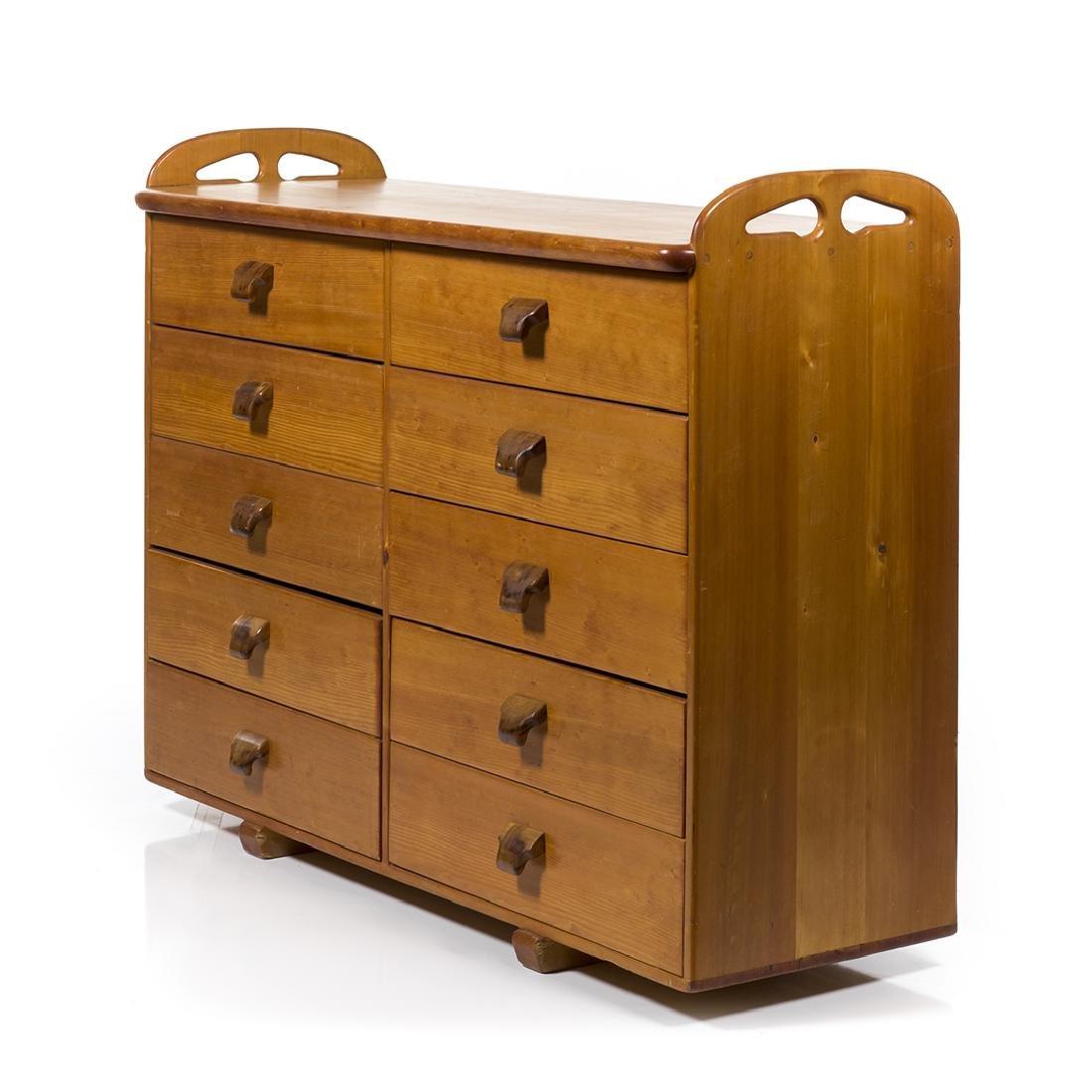 Craftsman Pine Dresser - 2