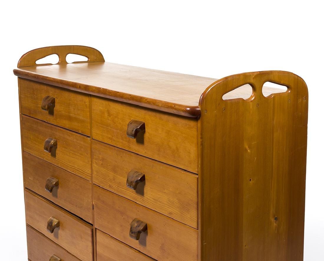 Craftsman Pine Dresser - 3