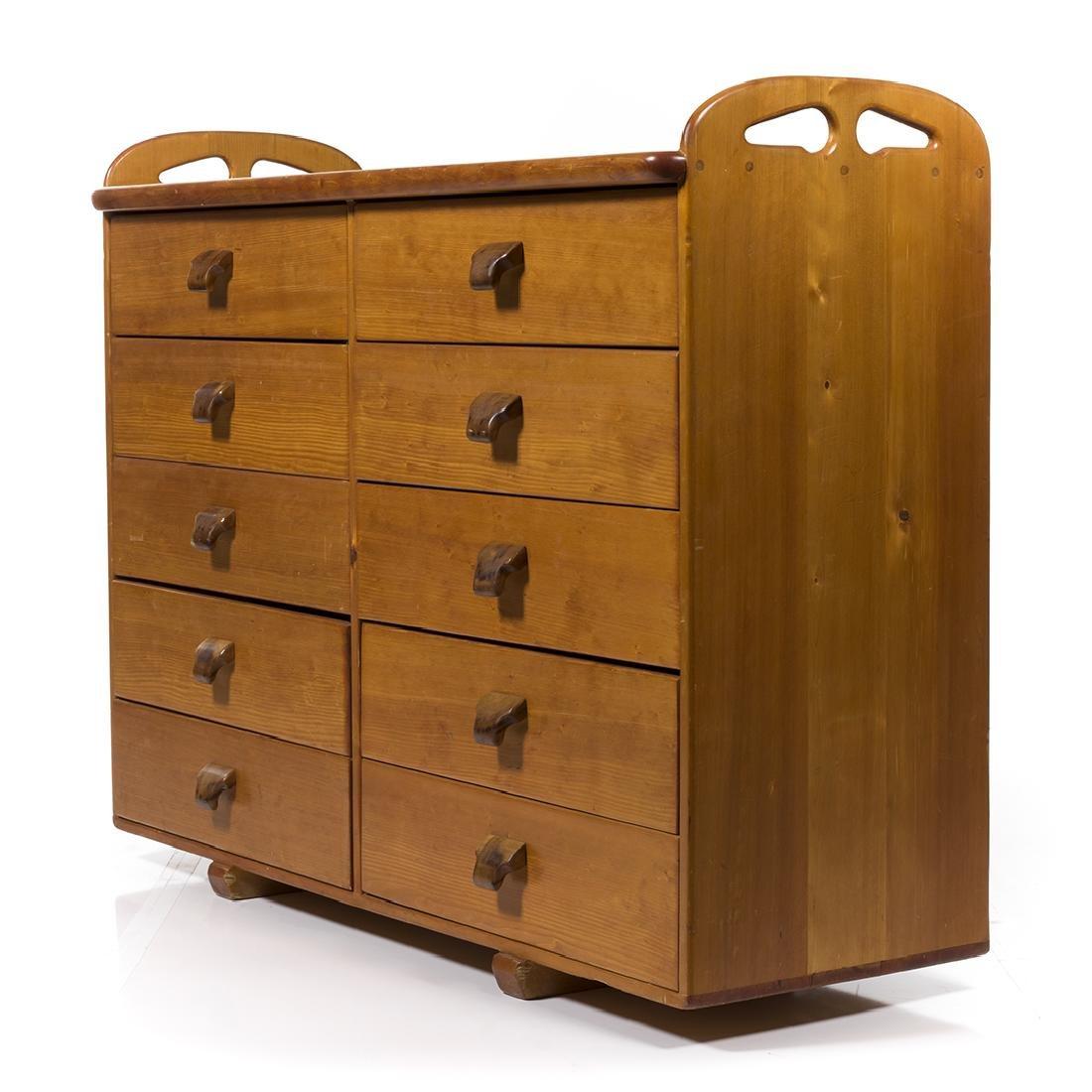 Craftsman Pine Dresser - 5
