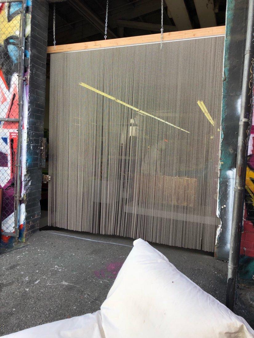 Shimmer Screen Ball Chain Curtain