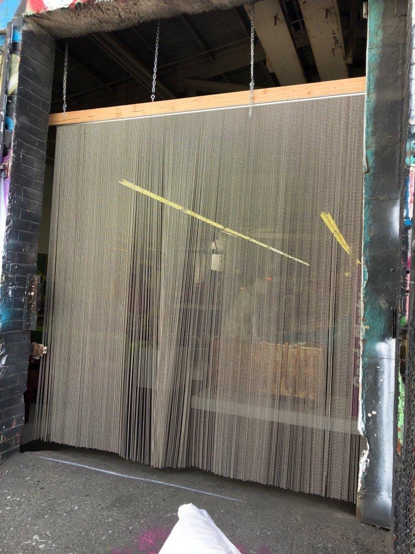 Shimmer Screen Ball Chain Curtain - 2