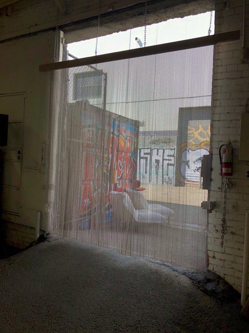 Shimmer Screen Ball Chain Curtain - 3