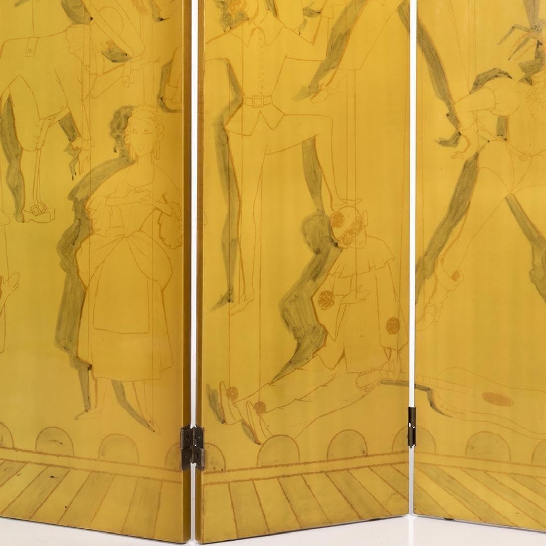 Piero Fornasetti Folding Screen - 3