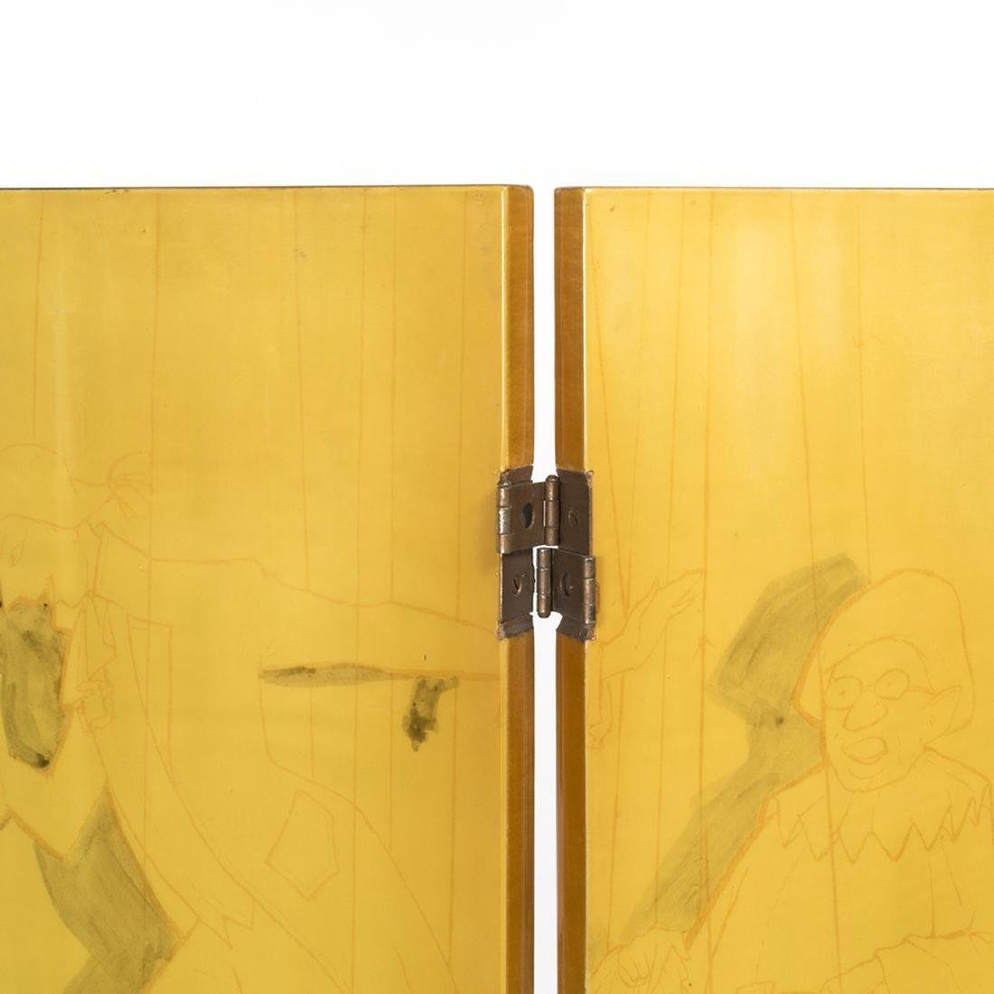 Piero Fornasetti Folding Screen - 5
