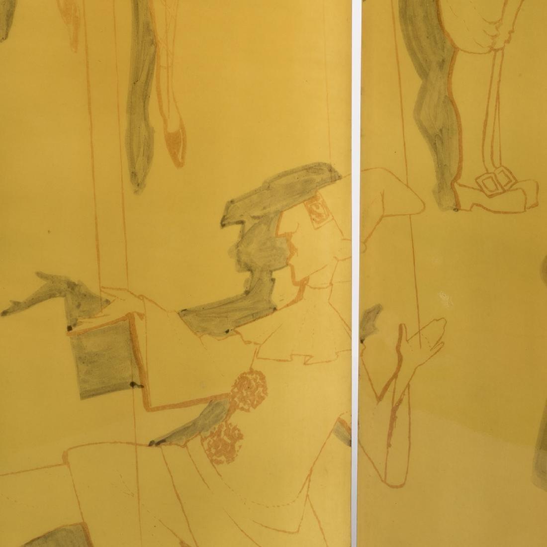 Piero Fornasetti Folding Screen - 6