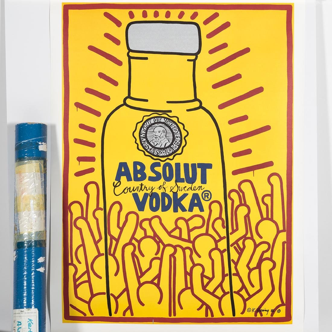 Keith Haring Absolut Vodka Lithograph - 3