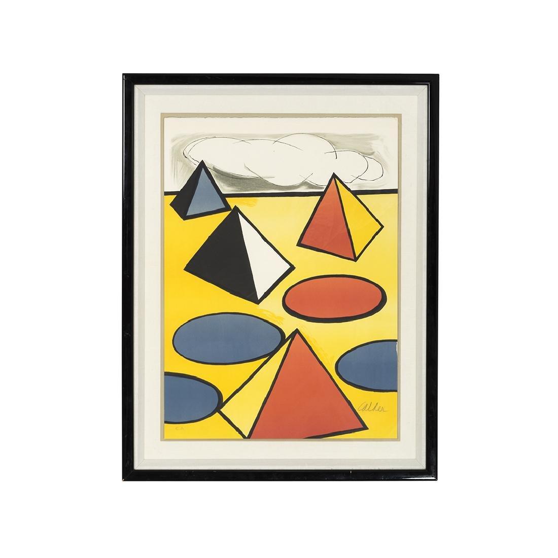 Alexander Calder Homage to the Pyramids