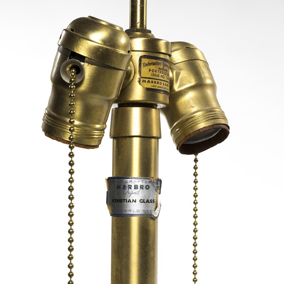 Murano Marbro Table Lamps (2) - 6