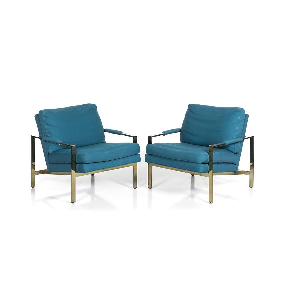 Milo Baughman Lounge Chairs (2)
