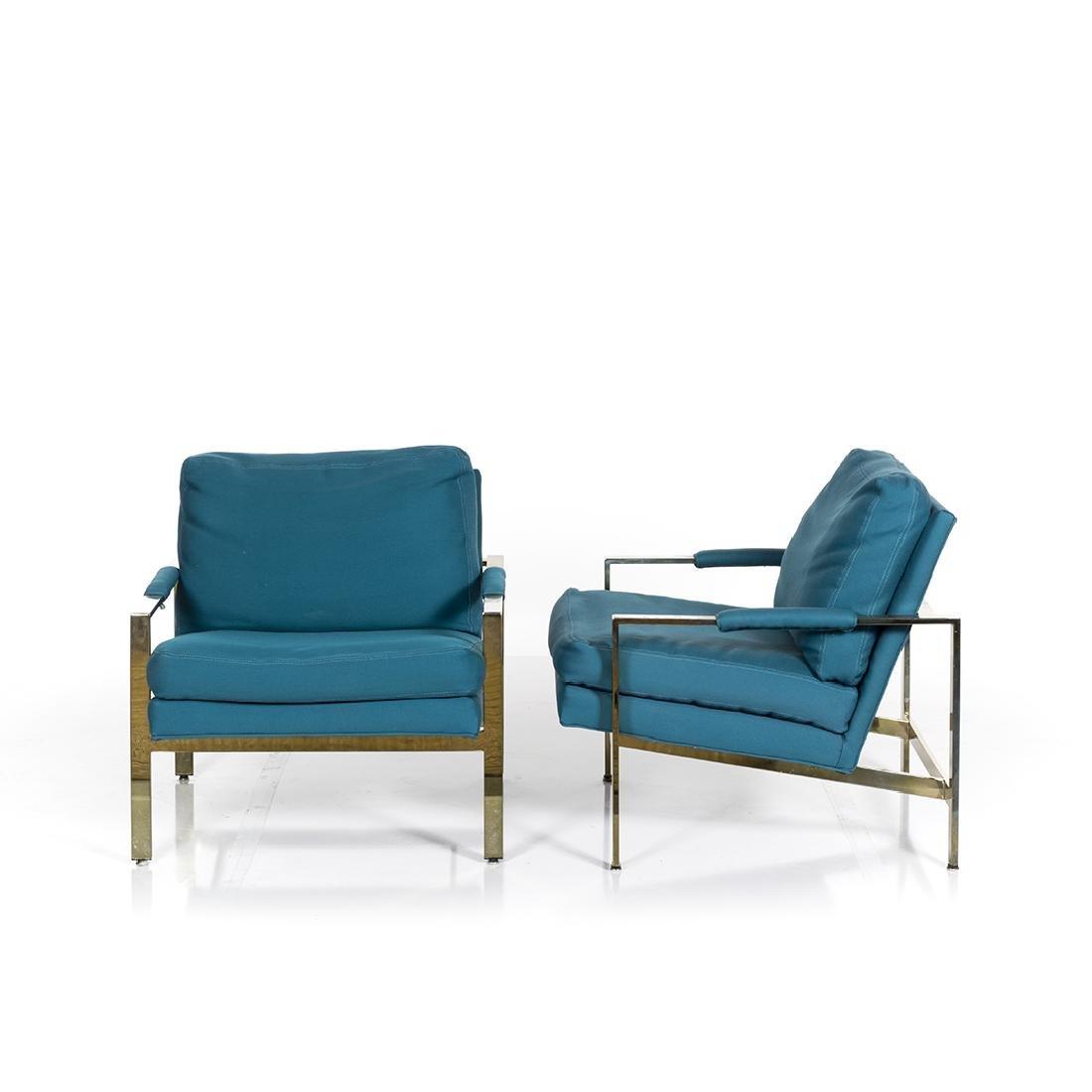 Milo Baughman Lounge Chairs (2) - 2