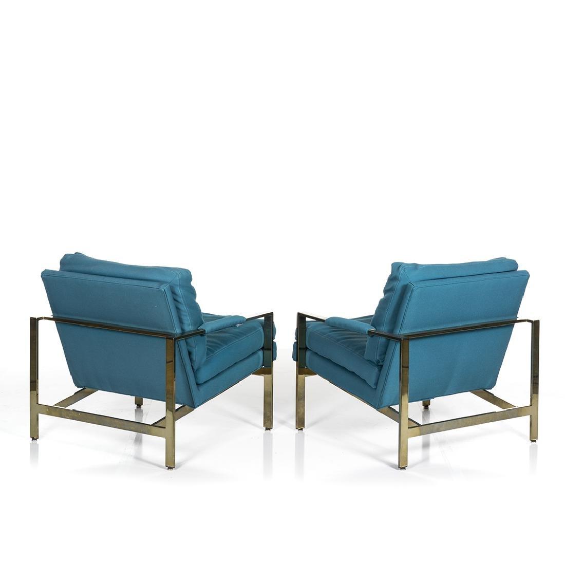 Milo Baughman Lounge Chairs (2) - 3