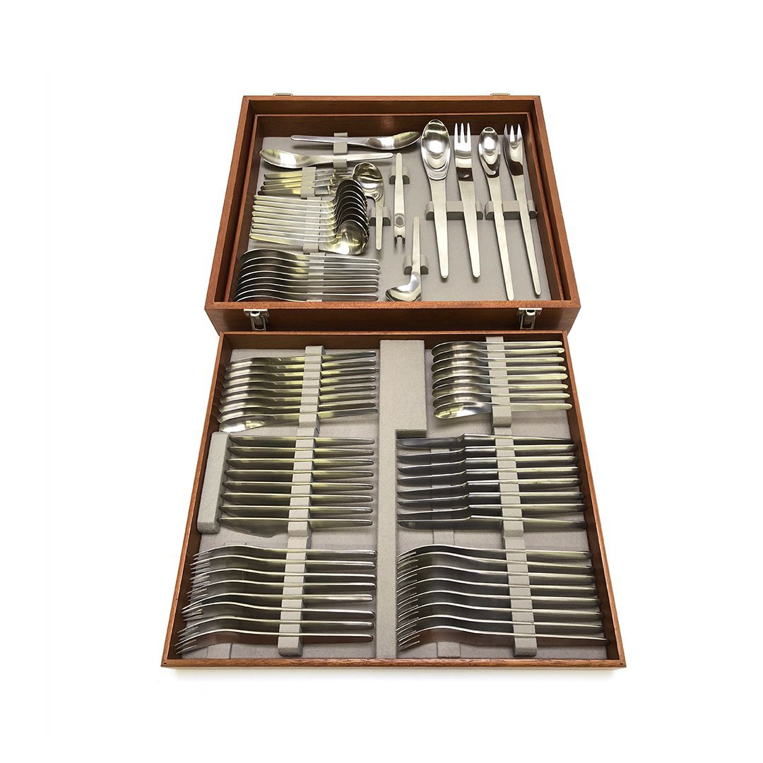 Arne Jacobsen AJ Flatware Set in Box