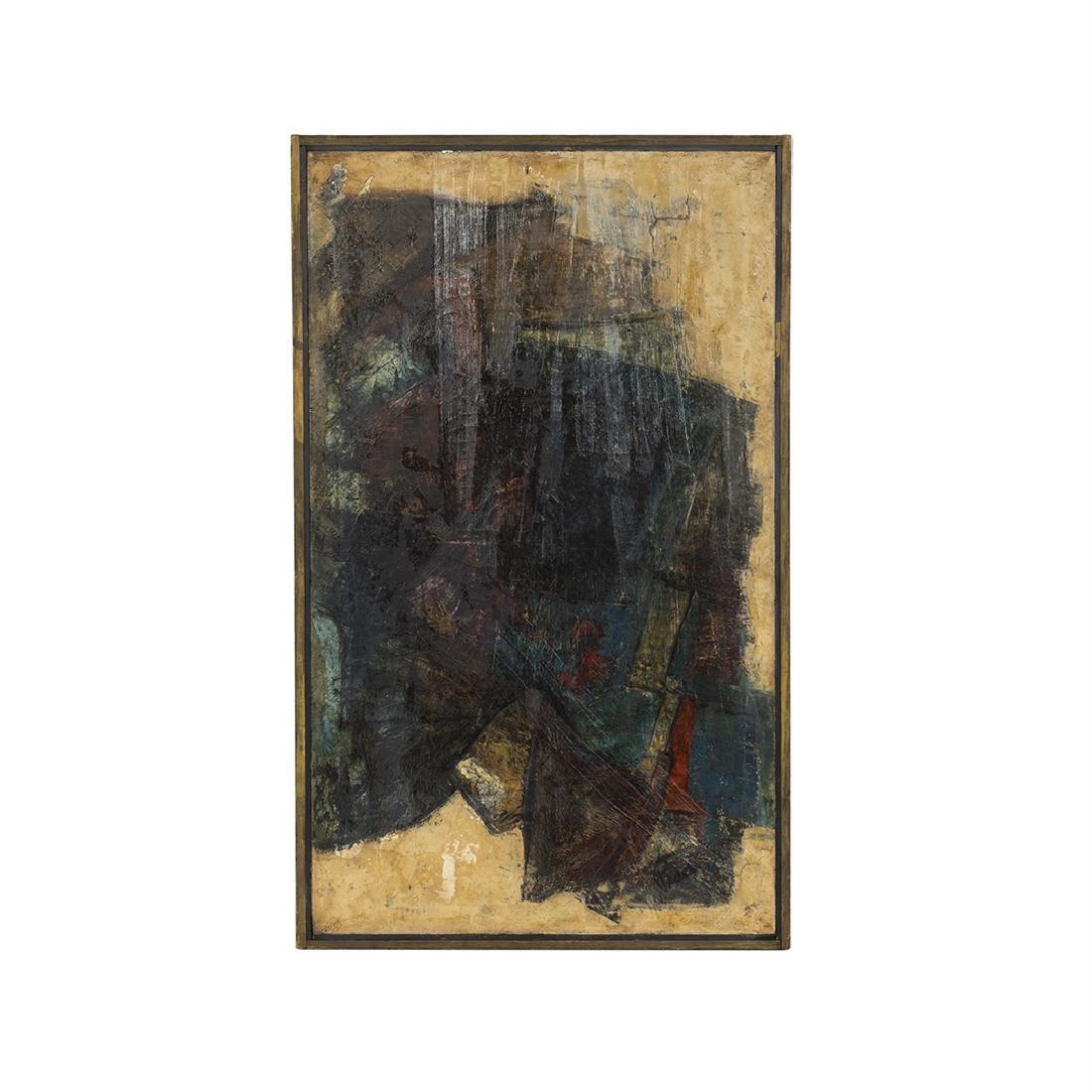 Joe Pisarro Abstract Painting