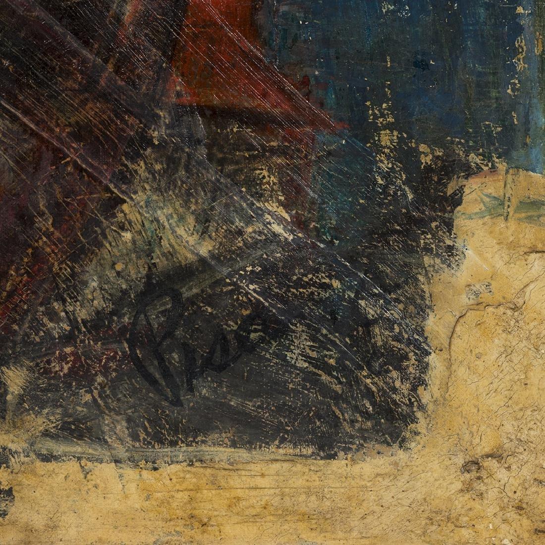 Joe Pisarro Abstract Painting - 2