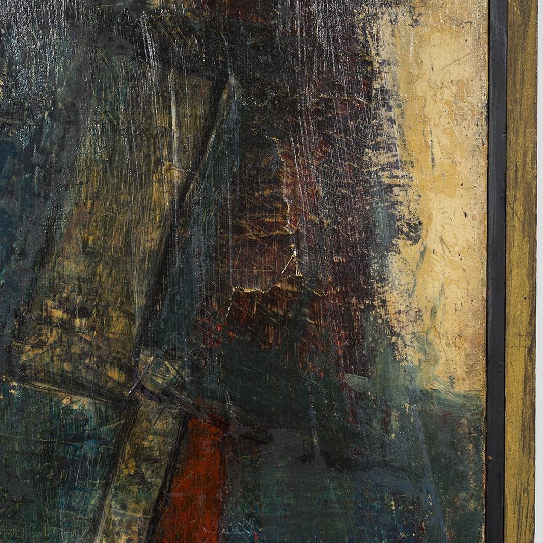Joe Pisarro Abstract Painting - 3