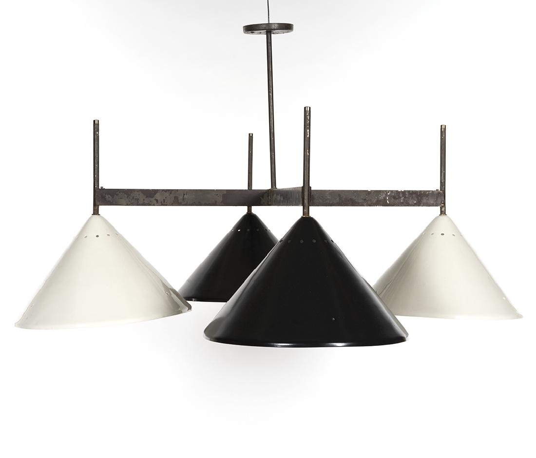 Four Shade Chandelier - 3