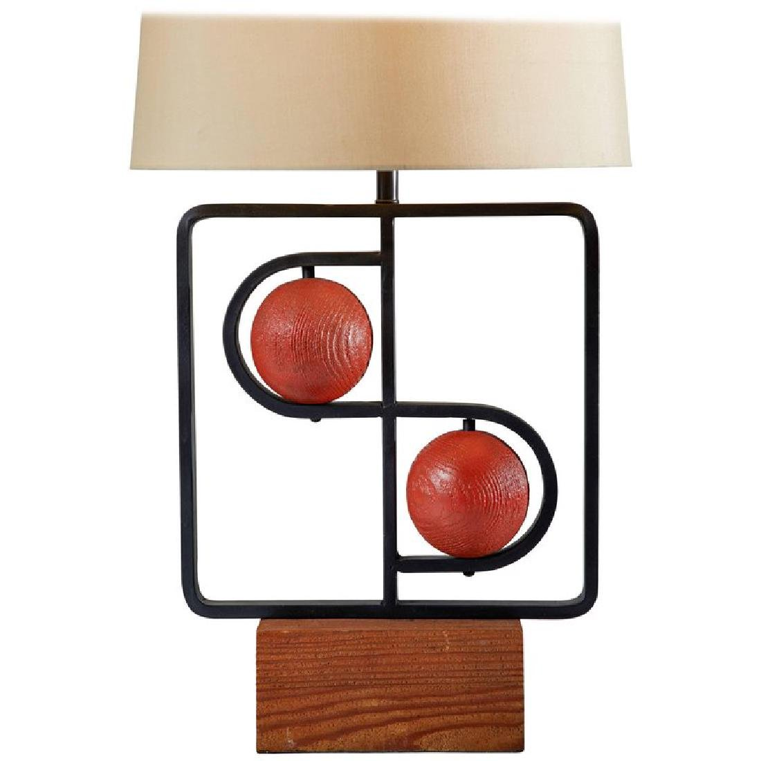 Harry Lawenda Double D Table Lamp