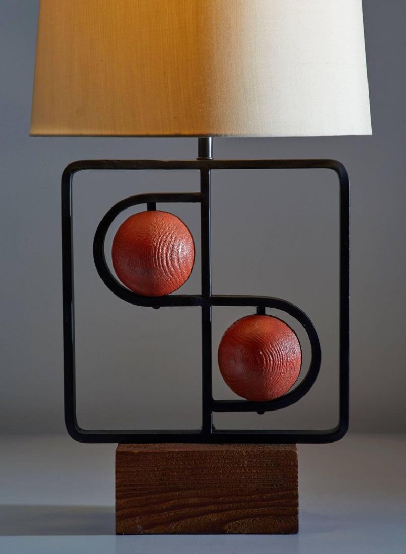 Harry Lawenda Double D Table Lamp - 2