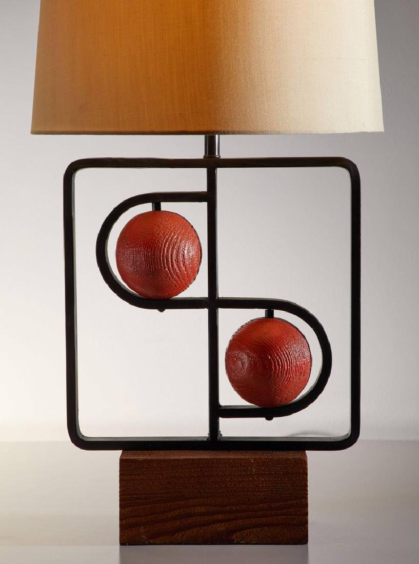 Harry Lawenda Double D Table Lamp - 3
