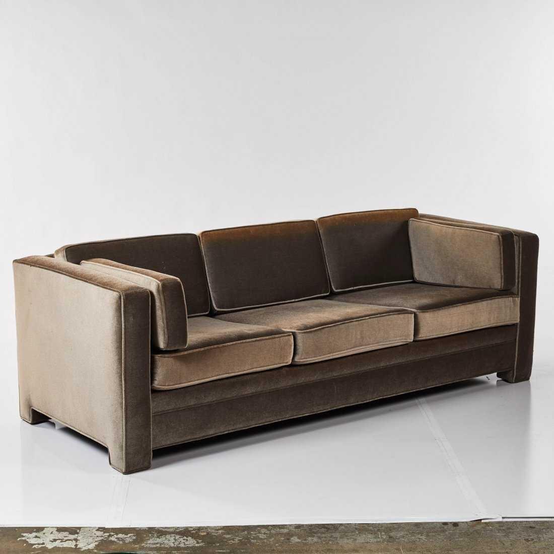 Modernist Mohair Sofa - 2