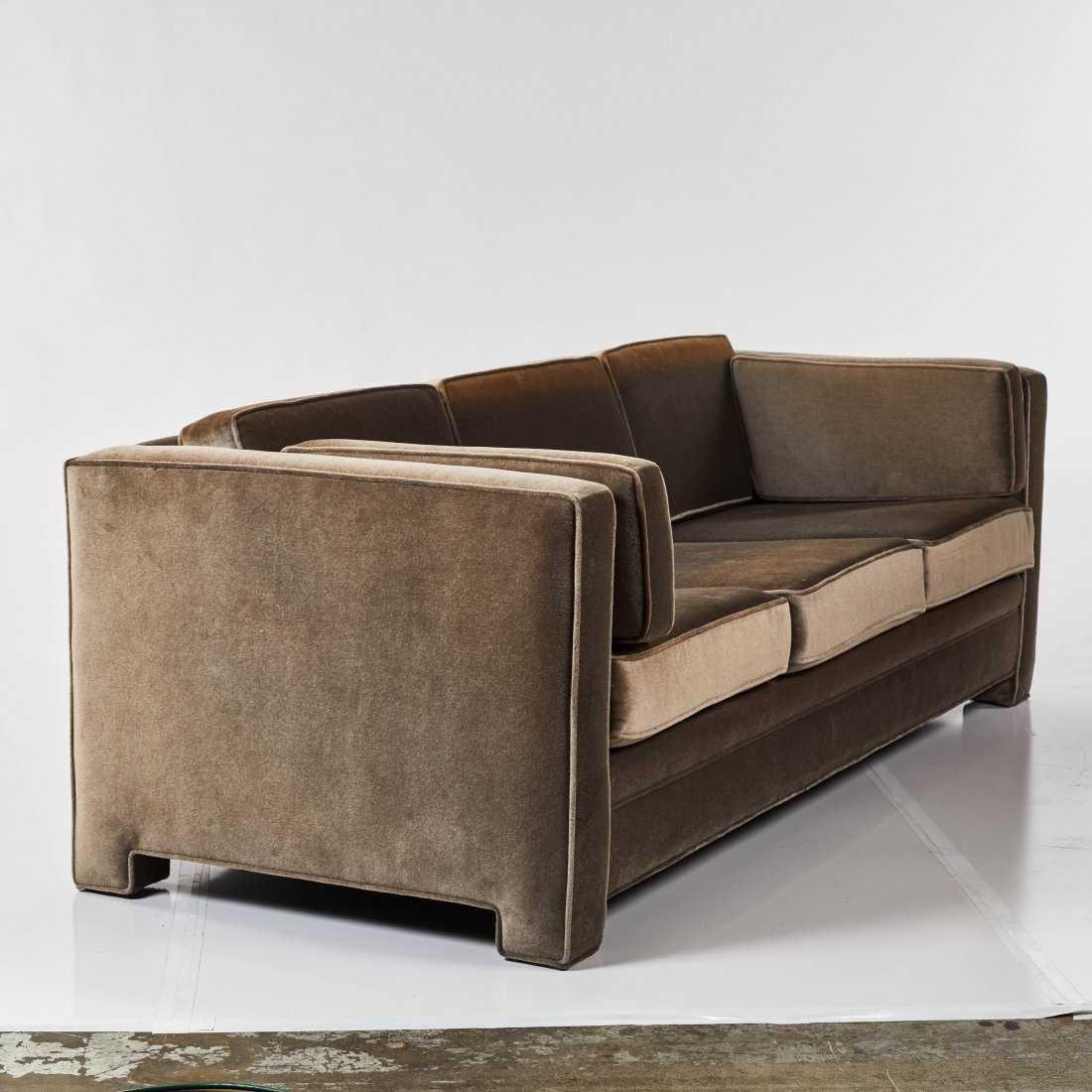 Modernist Mohair Sofa - 3