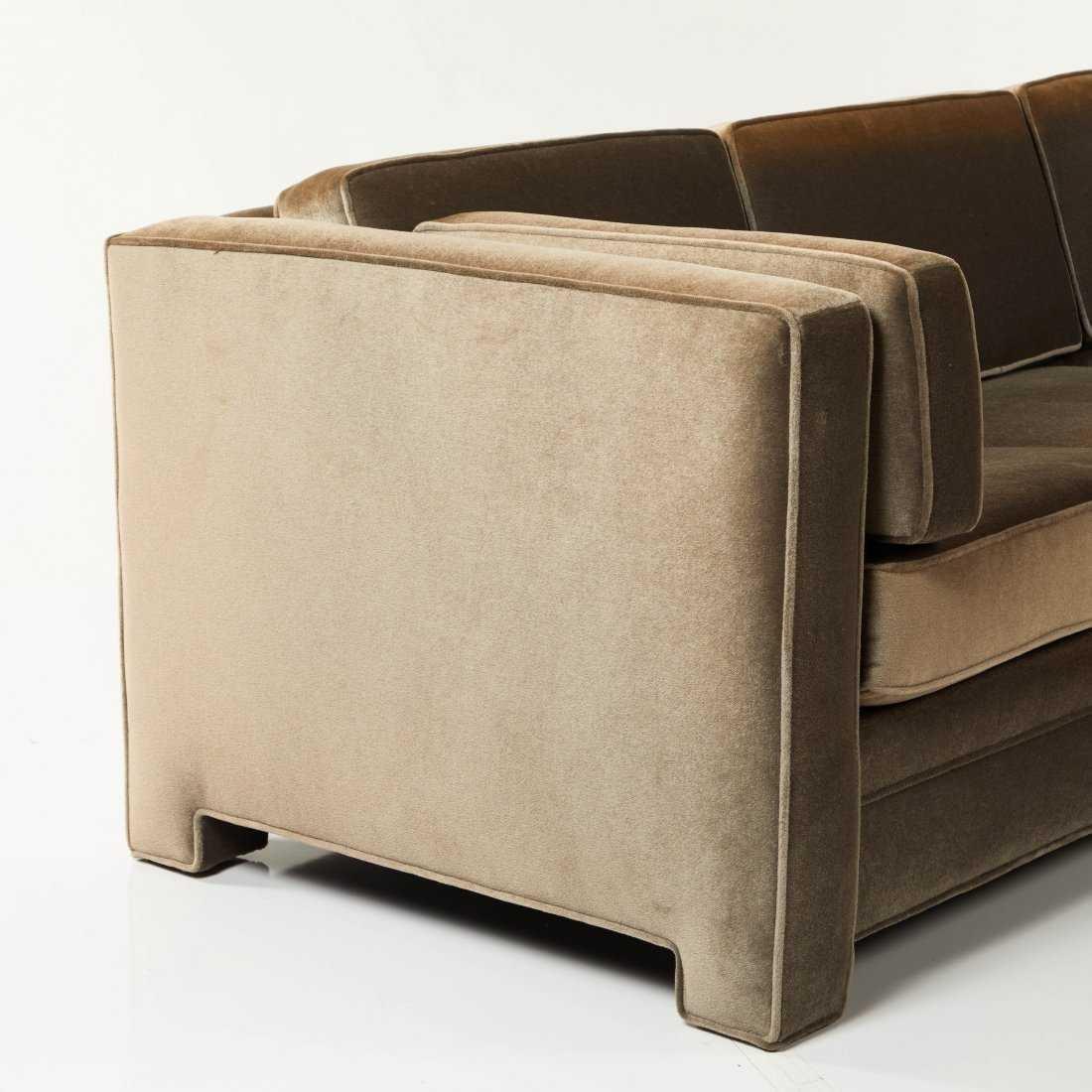 Modernist Mohair Sofa - 4