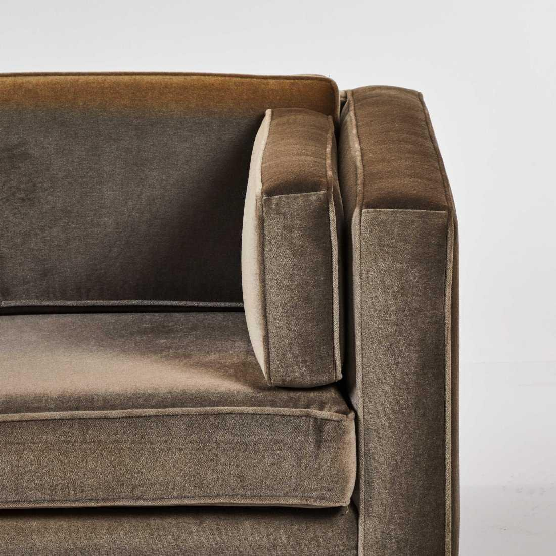 Modernist Mohair Sofa - 6