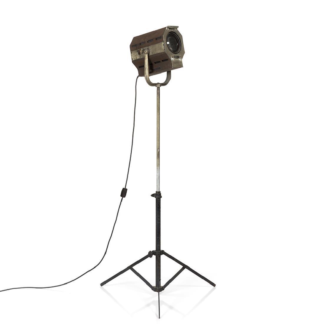 Industrial Spotlight Floor Lamp