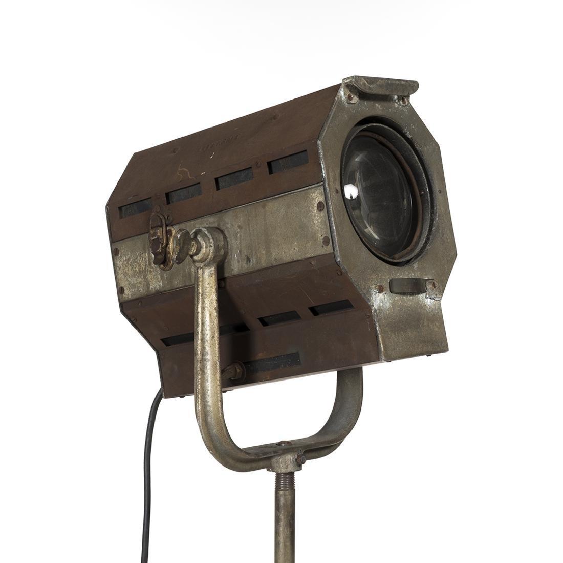 Industrial Spotlight Floor Lamp - 2