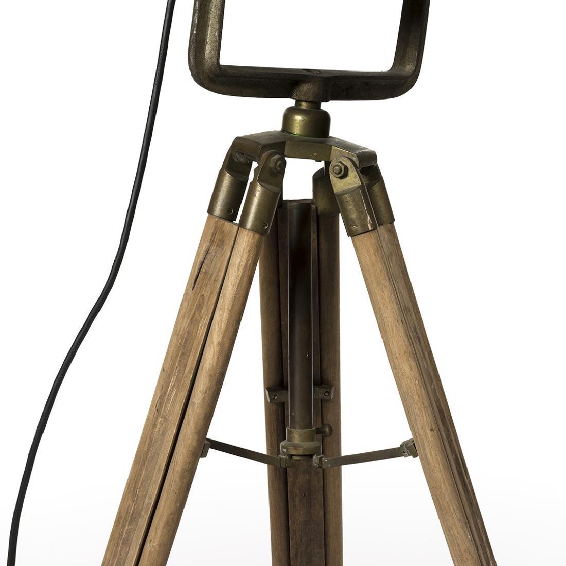 Industrial Spotlight Floor Lamp - 3