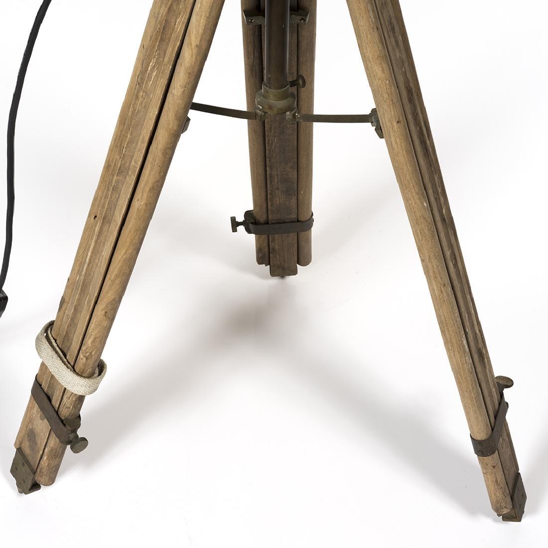 Industrial Spotlight Floor Lamp - 4