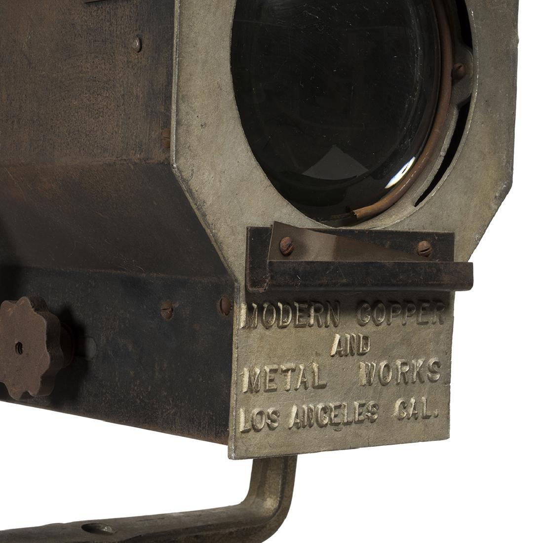 Industrial Spotlight Floor Lamp - 6