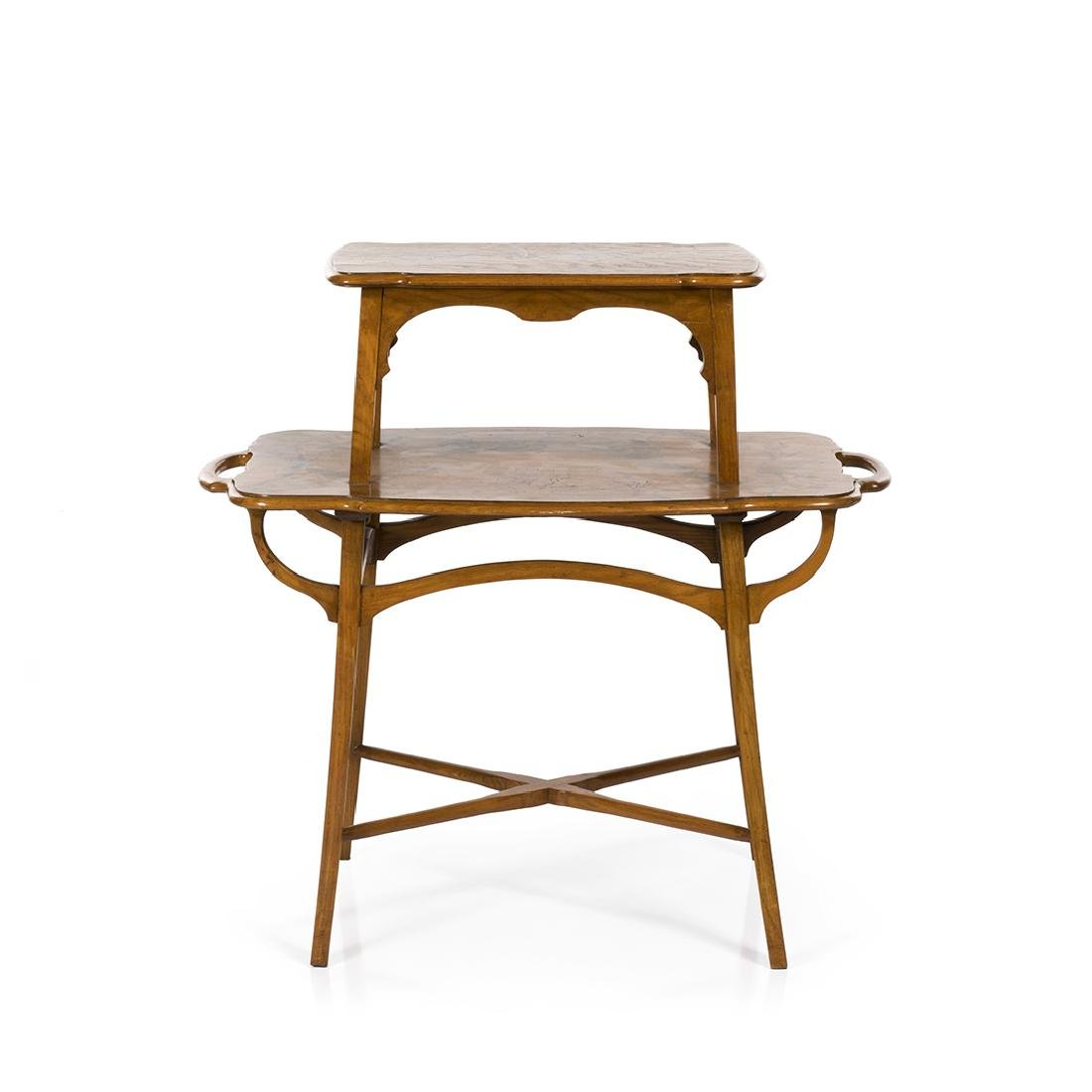 Emile Galle Style End Table