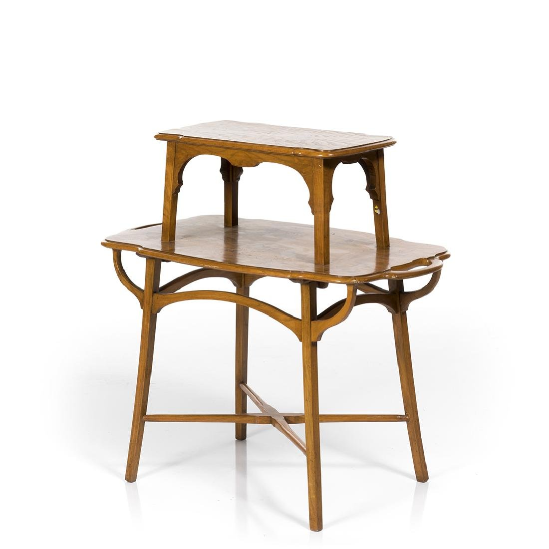 Emile Galle Style End Table - 2