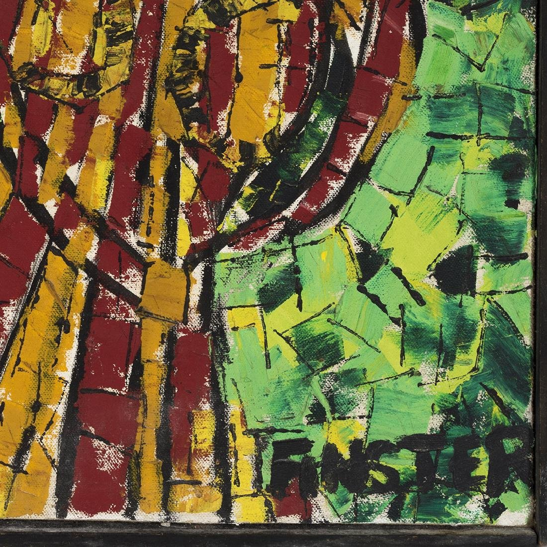 Finster Oil on Canvas - 3