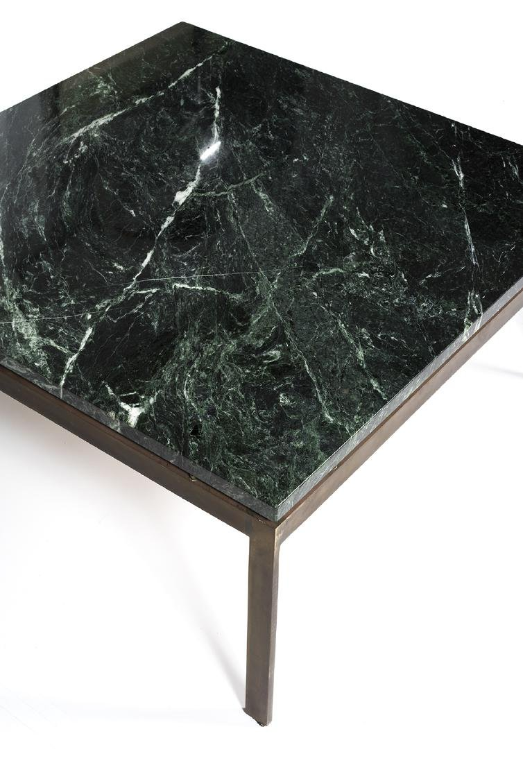 Marble and Bronze Coffee Table - 2